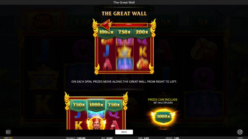 The Great Wall :: Feature Rules