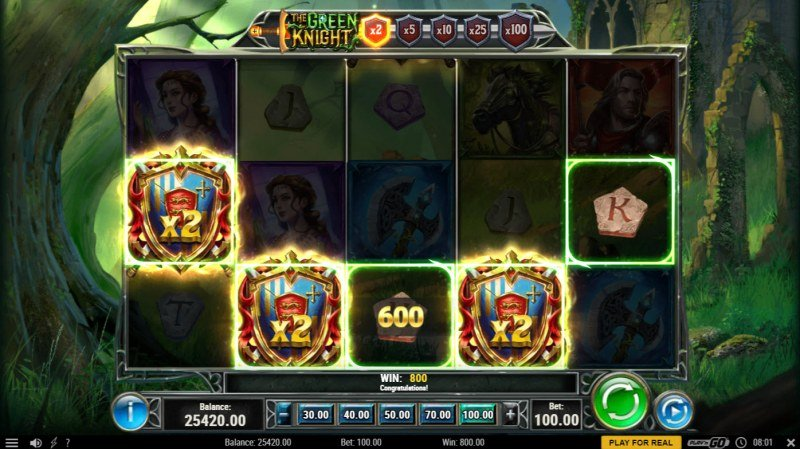 The Green Knight :: A five of a kind win