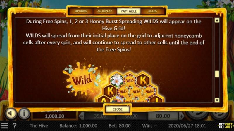 The Hive :: Wild Symbols Rules