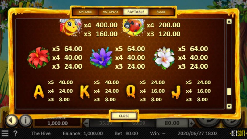 Play slots at Black Diamond: Black Diamond featuring the Video Slots The Hive with a maximum payout of $30,240