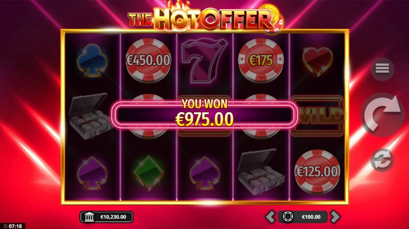 The Hot Offer :: Total Feature Payout