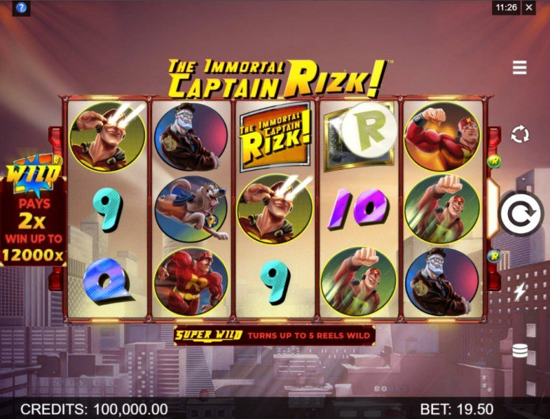 The Immortal Captain Rizk! :: Main Game Board