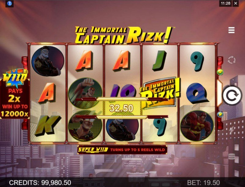 The Immortal Captain Rizk! :: A four of a kind win
