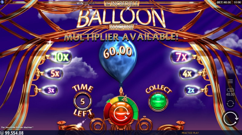 The Incredible Balloon Machine :: Multiplier feature activated