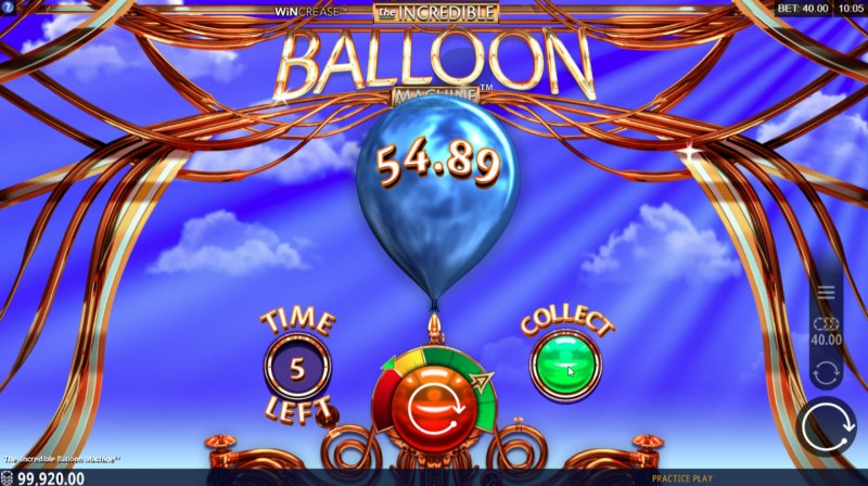 The Incredible Balloon Machine :: Fill the balloon and stop before it pops to win
