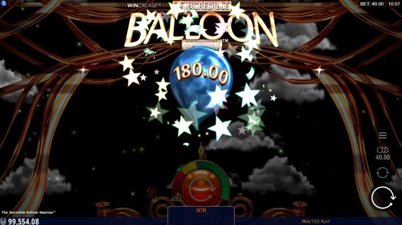 The Incredible Balloon Machine :: Big Win