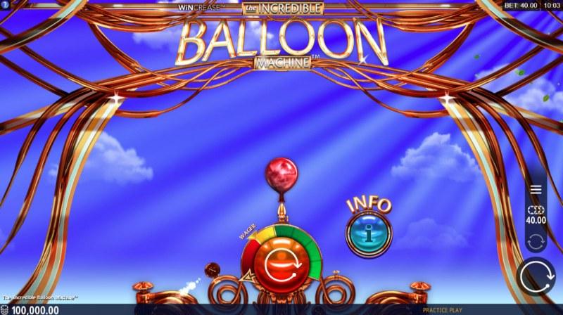 The Incredible Balloon Machine :: Main Game Board