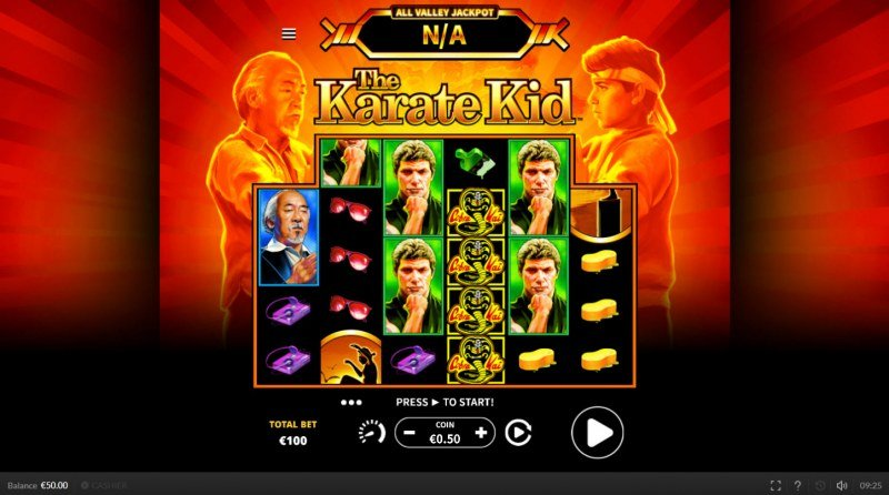 The Karate Kid :: Main Game Board
