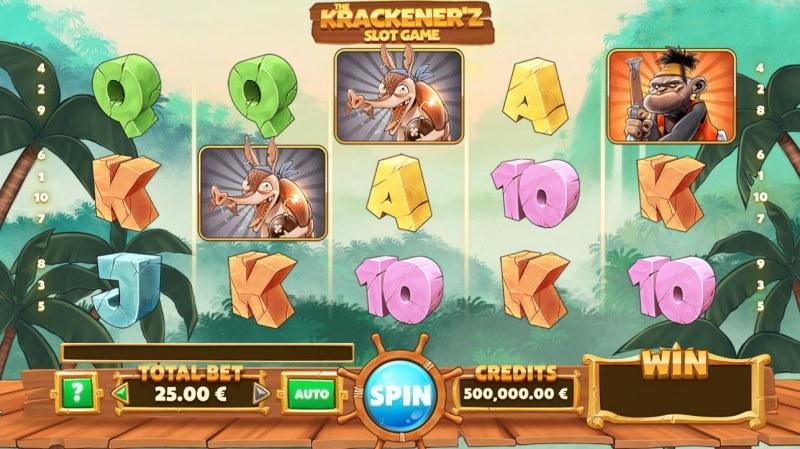 The Krackener'z :: Main Game Board