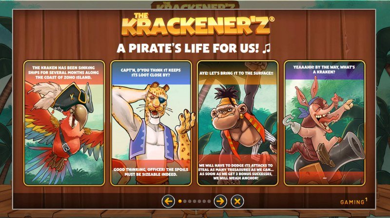The Krackener'z :: Feature Rules