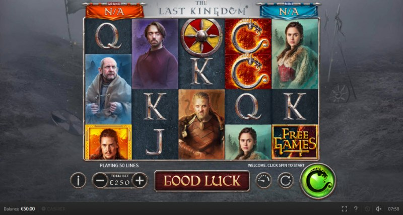The Last Kingdom :: Main Game Board