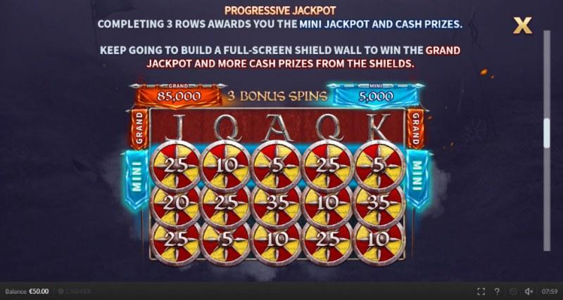The Last Kingdom :: Progressive Jackpots