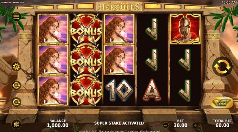 The Legend of Hercules :: Main Game Board