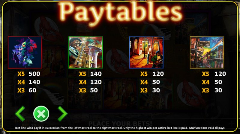 The Lost Magic :: Paytable - High Value Symbols