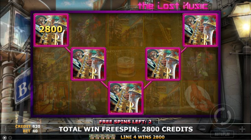 The Lost Magic :: Free Spins Game Board