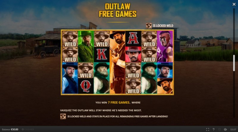 The Magnificent Seven :: Outlaw Free Games