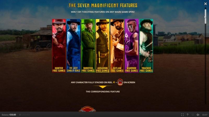 The Magnificent Seven :: Character Symbols
