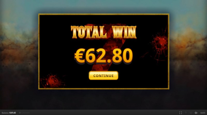 The Magnificent Seven :: Total free spins payout