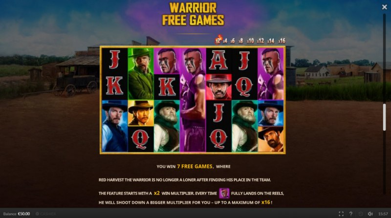The Magnificent Seven :: Warrior Free Games
