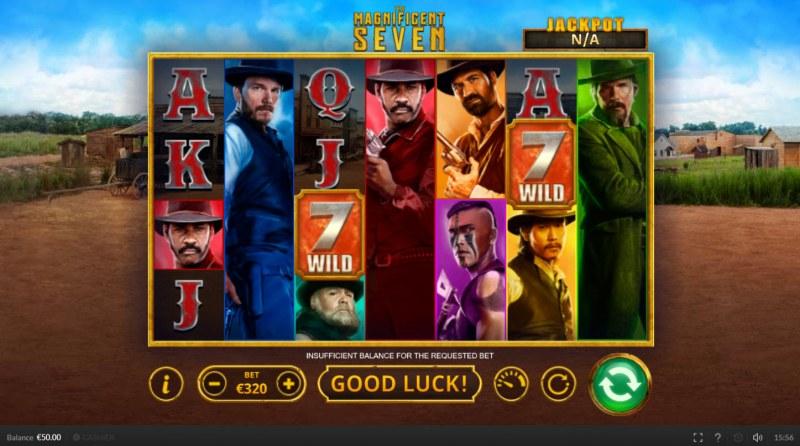 The Magnificent Seven :: Main Game Board