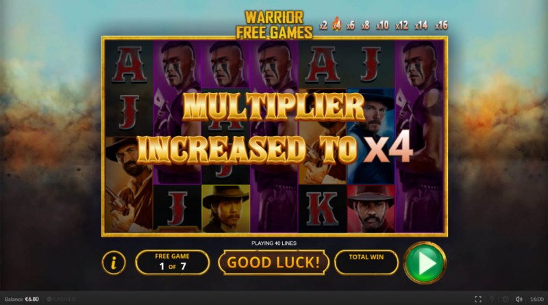 The Magnificent Seven :: Multiplier increased