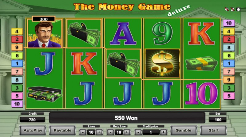 The Money Game Deluxe :: Four of a kind Win