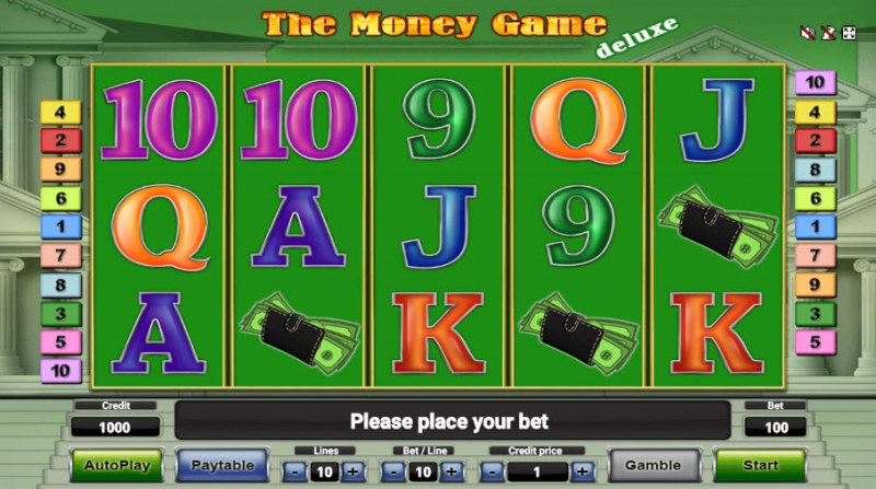 The Money Game Deluxe :: Main Game Board
