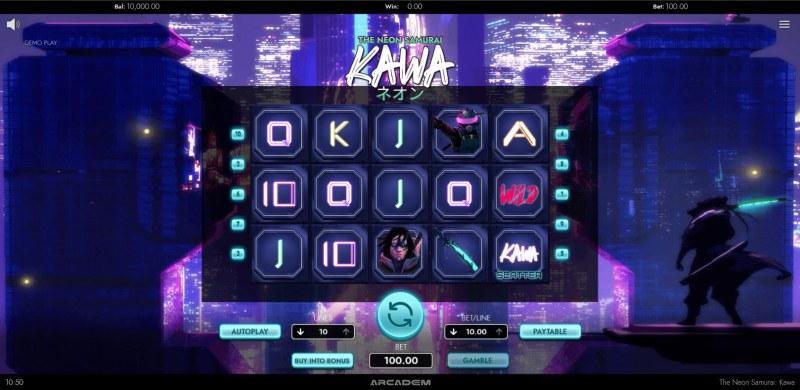 The Neon Samurai Kawa :: Main Game Board