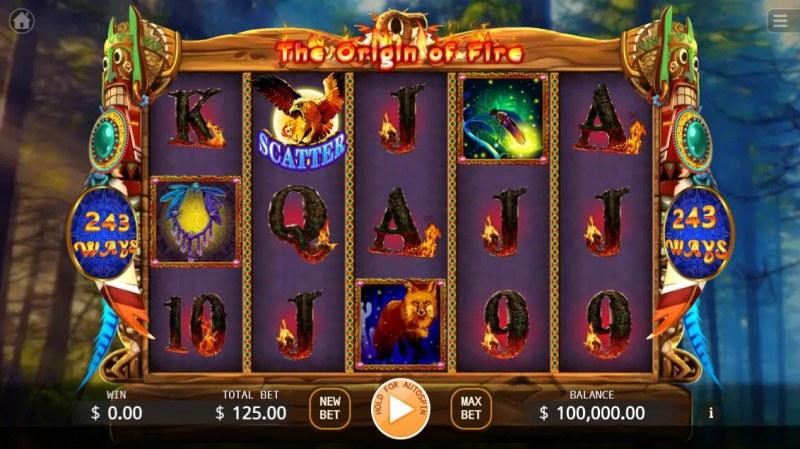 The Origin of Fire :: Main Game Board
