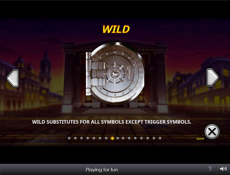 The Perfect Heist :: Wild Symbol Rules