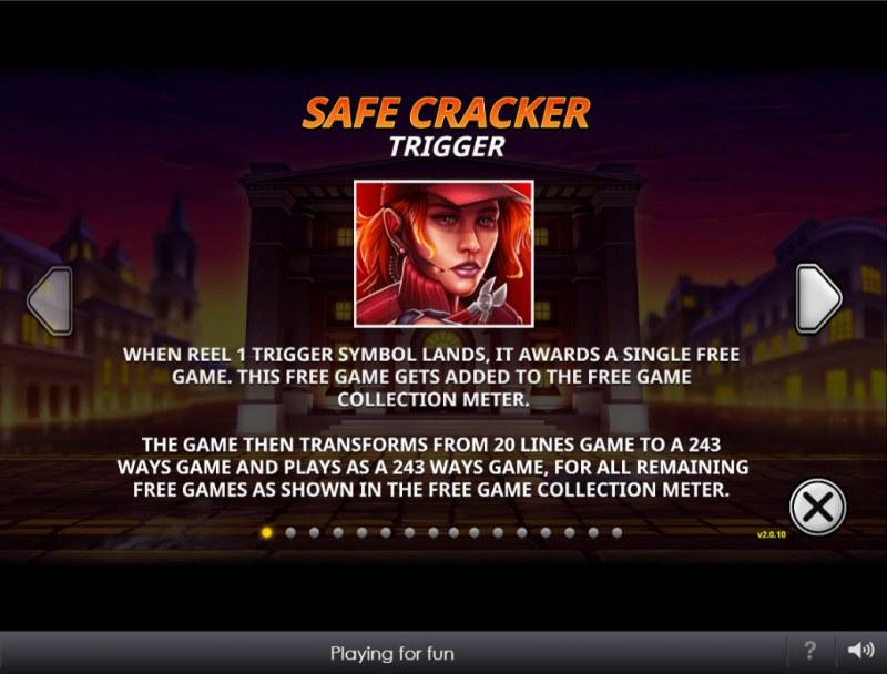 The Perfect Heist :: Safe Cracker