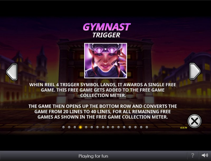 The Perfect Heist :: Gymnast