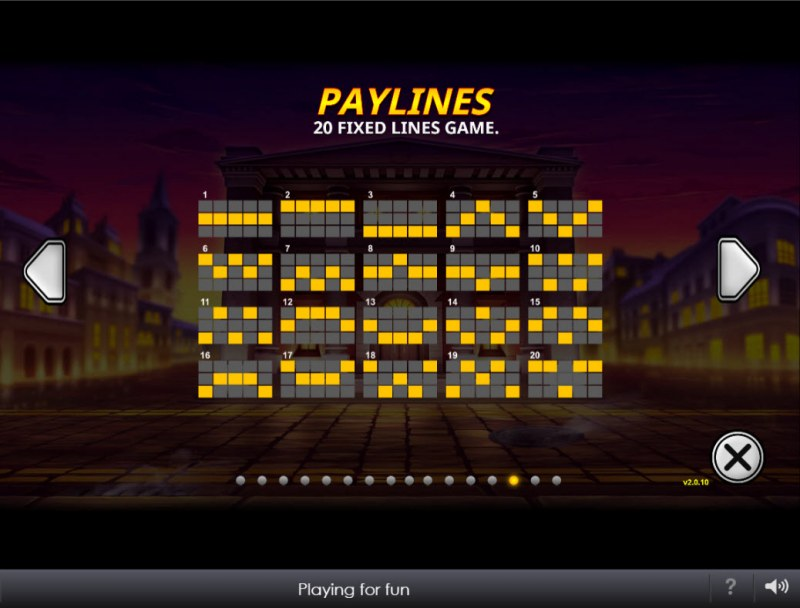 The Perfect Heist :: Paylines 1-20