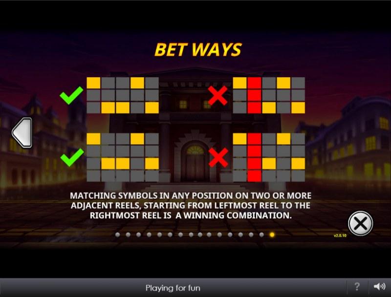 The Perfect Heist :: Bet Ways