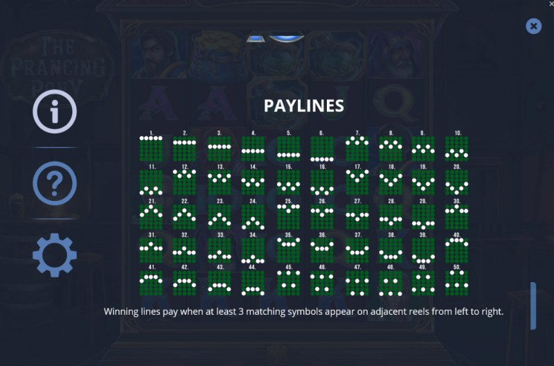 The Prancing Pony :: Paylines 1-50