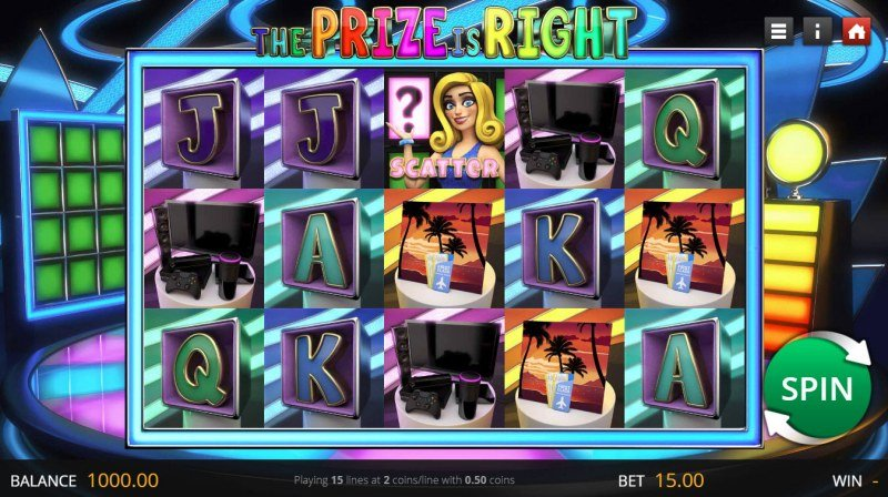 The Prize is Right :: Main Game Board