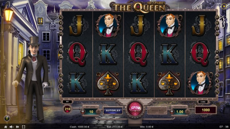 The Queen of Spades :: Main Game Board