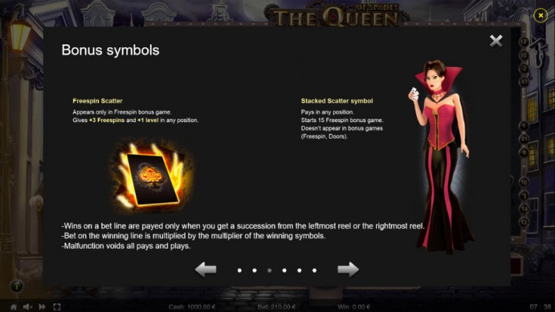 The Queen of Spades :: Feature Rules