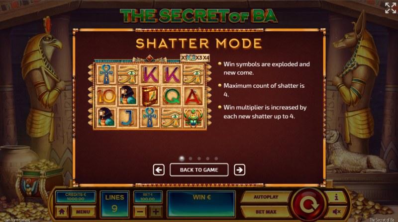 The Secret of Ba :: Shatter Mode