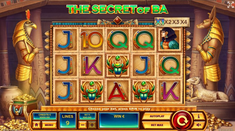 The Secret of Ba :: Base Game Screen