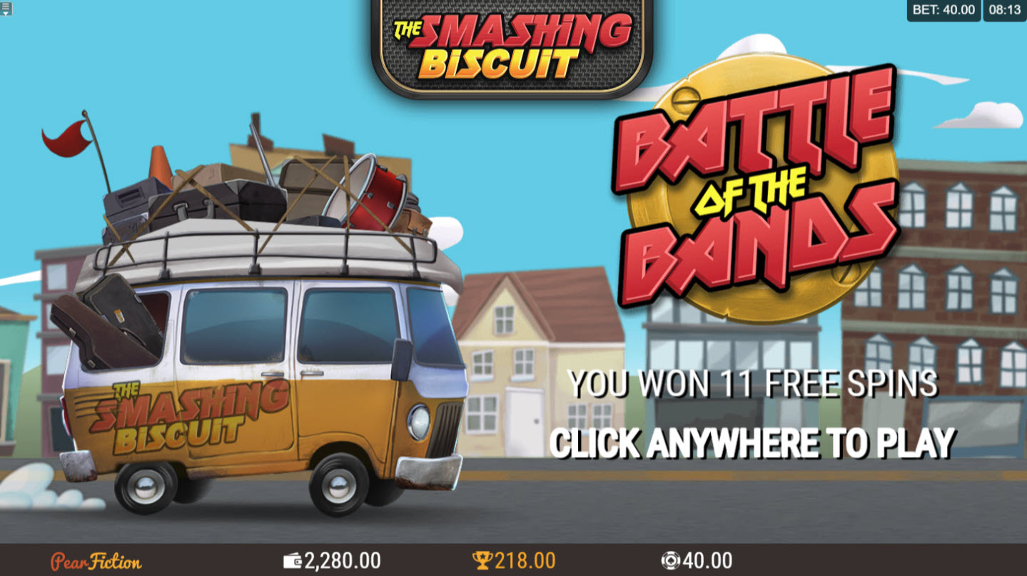 Play slots at Captain Cooks: Captain Cooks featuring the Video Slots The Smashing Biscuit with a maximum payout of $440,000