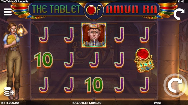 The Tablet of Amun Ra :: Main Game Board