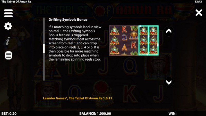 The Tablet of Amun Ra :: Bonus Feature