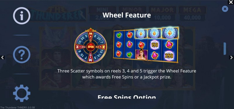 The Thunderer :: Wheel Feature