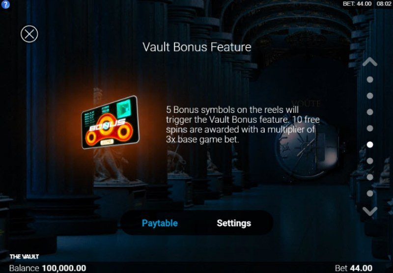 The Vault :: Vault Bonus Feature