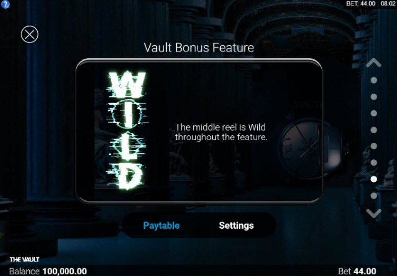 The Vault :: Feature Rules