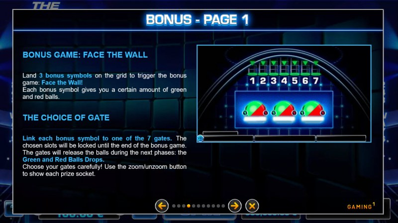 The Wall :: Bonus Game Rules