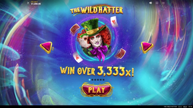 The Wild Hatter :: Win Over 3,333x