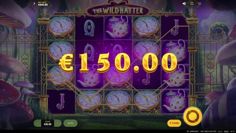 The Wild Hatter :: Multiple winning paylines