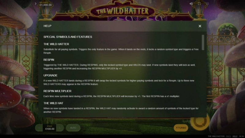 The Wild Hatter :: Basic Game Rules